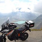 KTM 1190 Adventure am Colle del Nivolet