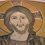 Christusmosaik im Dom zu Pisa