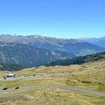 Bergwelt am Jaufenpass Richtung Norden
