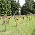 Militärfriedhof - Gegend Rifugio Granezza