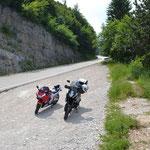Auf der Strecke - Monte Bondone