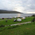 Campingplatz in Ullapool