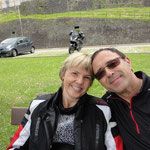 Wir zwei am Lago Maggiore