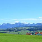 Voralpenland - Richtung Scheidegg