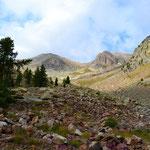 Hinauf zum Col de la Lombarde