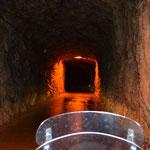 Tunnel zum Passo Pura