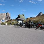 In den Sommermonaten dürften sich hier noch viel mehr Motorräder tummeln.