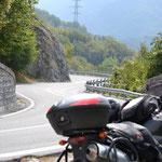 Colle San Bernardo - tolle Strecke im südlichen Teil