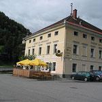 Unsere Unterkunft in Predlitz.