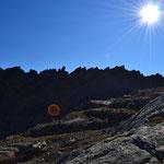 Am Col de Nivolet - Gran Paradiso