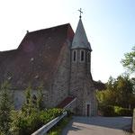 Alte Kirche in Pöbring