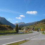 Kurz vor St. Anton a. Arlberg