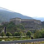 Festungsanlage Exilles bei Oulx