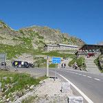 Letzter Pass für heute. Sustenpass, 2.224m