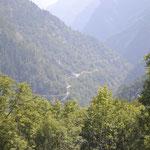 Durch das Vallone Elva talauswärts