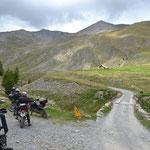 Am Weg zum Col du Parpaillon