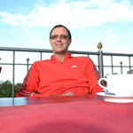 Kaffe auf der Stiftsterrasse