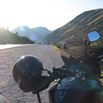 Am Hahntennjoch - um diese Zeit sind fast keine Biker mehr unterwegs