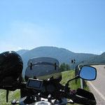 Oberhalb von Bozen in Steinegg