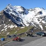 Parkplatz auf der Edelweißspitze