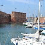 Im Hafen von Livorno