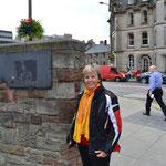 Am Weg zum Edinburgh Castle