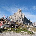 Am Passo di Giau (2236 m)