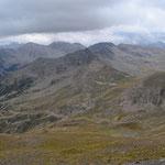 Blick aus 2802 m Höhe