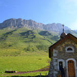 Kapelle am Col d´Aravis