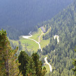 Passo Manghen - Blick nach Süden