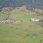 Blick auf die andere Talseite nach Telfes