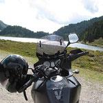 Bergsee vor dem Staller Sattel.