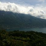 Blick von Tremosine auf den Gardasee