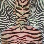 Malerei - Zebra2: Marga Golz; Foto: Günter Ruf