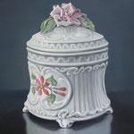 Zuckerdose Italien, Ölfarbe a. LW, 60 x 80 cm