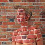 Malerei - Mauer: Marga Golz; Foto: Günter Ruf