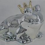 El Principe Rana, Ölfarbe, a. LW, 50 x 70 cm