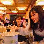 11月 神戸女学院煎茶道部・合同レクリエーション(豆腐づくり)
