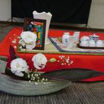 11月 手作り茶会⑦ 結界「前途洋々」