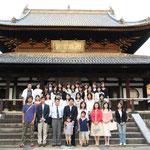 神戸女学院大学と宇治旅行