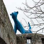 Blau Miau  von Carin Grudda