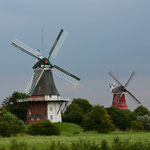 Westliche und Östliche Mühle in Greetsiel