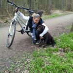 .....kann das fahrradfahren geübt werden !