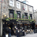 to one of my favourite pubs in Edinburgh, a victorian original