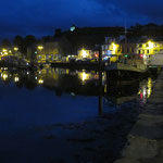 Tarbert at night
