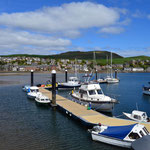 the harbor in Campbeltown