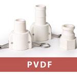 PVDF Kupplung und Stecker