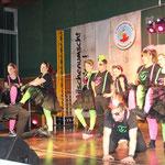 Die Party-Showtanz-Truppe beim TVW
