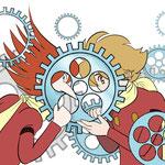 Illustratorで歯車描いてみた記念  4/28
