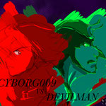 ZERO  VS DEVI HALATION  赤と緑はハレーション起してどうとかいうブログを書いた時のサンプル絵  5/2